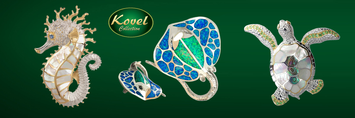Emerald Lady Jewelry Kovel Sealife