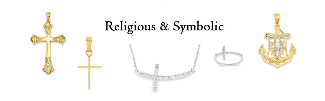 Emerald Lady Jewelry Crosses, Religious & Symbolic Jewelry