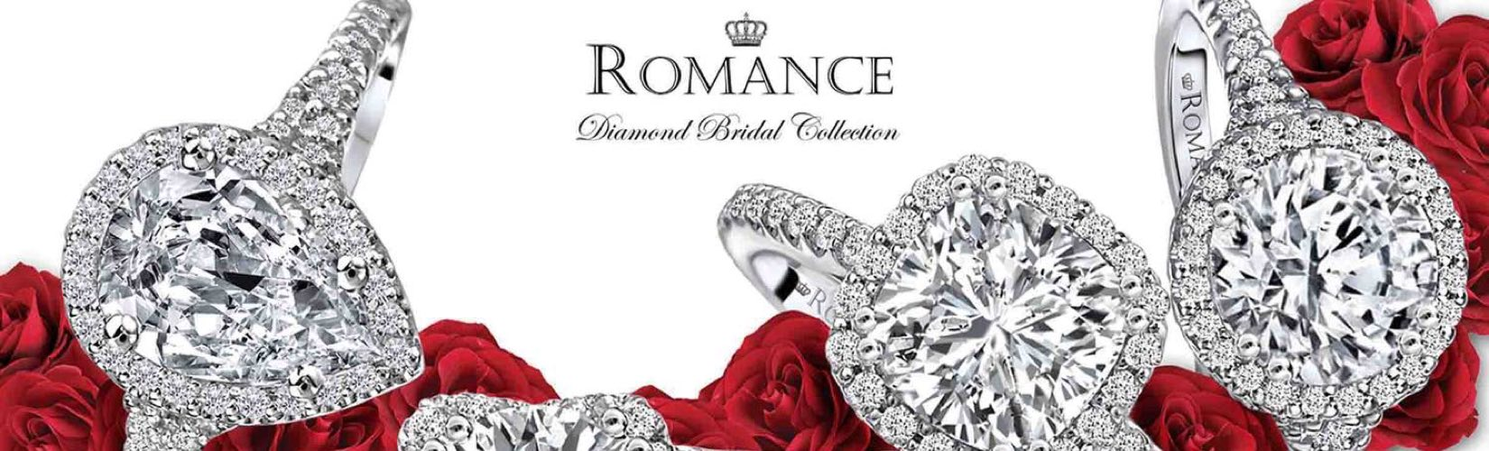 Romance Bridal Collection  Engagement Rings And Wedding Rings  Emerald  Lady Jewelry  Destin,